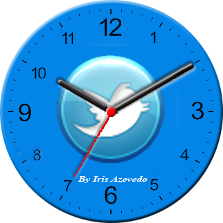 Relógio-twitter